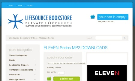 ELEVEN Series at LifeSource Bookstore