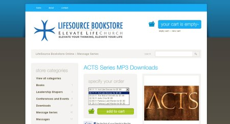 ACTS Series MP3 Downloads