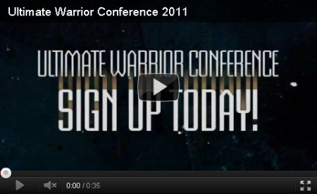 Ultimate Warrior Conference 2011 You Tube