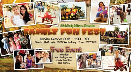 2011 Family Fun Fest Elevate Life Church Frisco, Texas