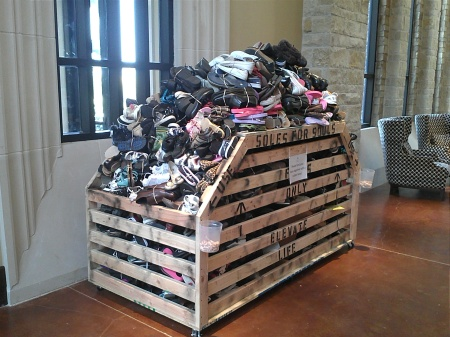 Soles 4 Souls over 10,000 shoes